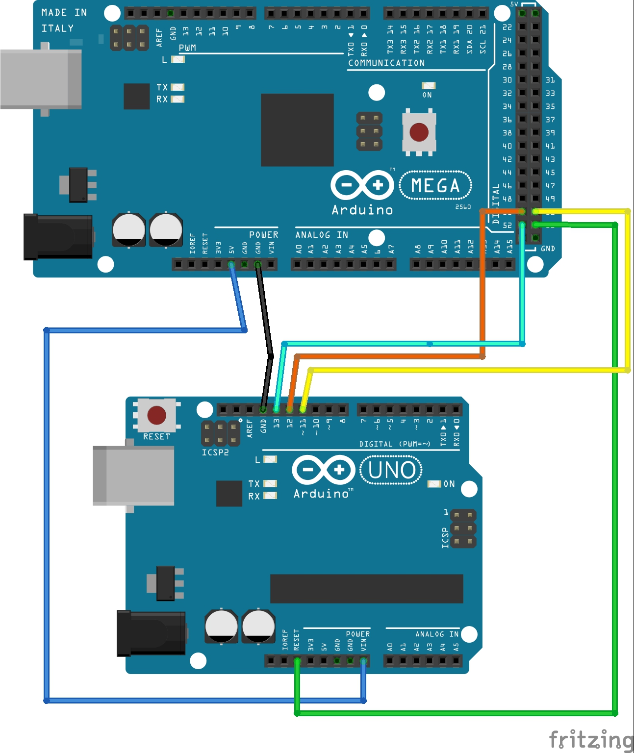 How to burn an Arduino UNO bootloader to a new ATMEGA328P